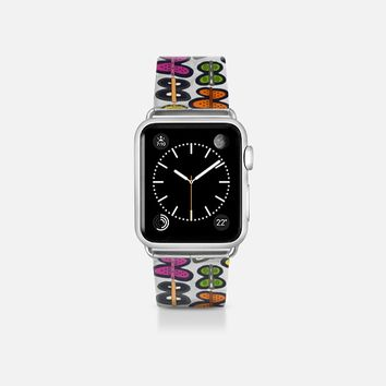 butterfly pop transparent apple watch band Apple Watch Band (38mm)  by Sharon Turner | Casetify