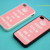 iphone 4 case -  Keep Calm series, iphone 4 case, iphone 4S case in plastic or silicone,color in black or white or clear