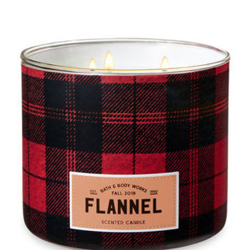 FLANNEL3-Wick Candle