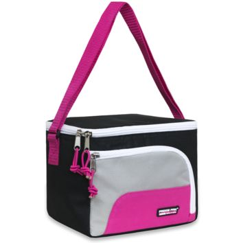 Schools In Awesome Lunch Bag Pink and Black