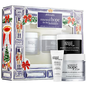 Sephora: philosophy : Renewed Hope for the Holidays : skin-care-sets-travel-value
