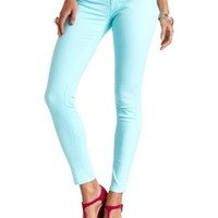 "Refuge ""Skin Tight"" Colored Denim Leggings by Charlotte Russe"