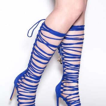 Lace-Up 2 Win Gladiator Sandals