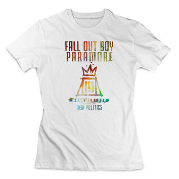 fall out boy paramore Clothing T shirt Women