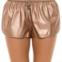 The Sobe Shorts in Rosegold