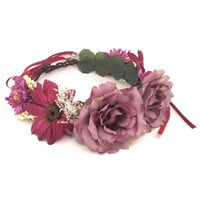 Meadow Garland Crown