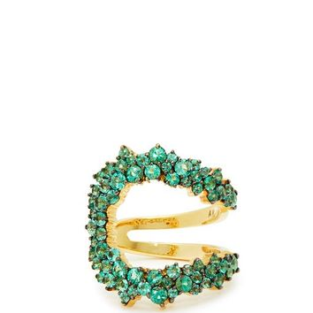 Mirian 18kt gold and emerald ring | Ana Khouri | MATCHESFASHION.COM US
