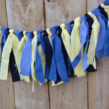 minions inspired banner  - minions photo prop - minions accessories - minions birthday banner -despicable me birthday - yellow/black/denim