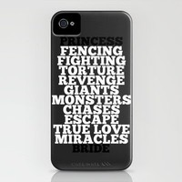 Princess Bride iPhone Case by Leah Flores | Society6