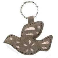 Hemp & Suede Peace Dove Keychain on Sale for $6.99 at HippieShop.com
