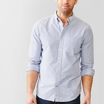 Gap Men Striped Modern Oxford Shirt