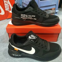 """Nike x OFF-White"" Unisex Casual Fashion Running Shoes Couple Sneakers"