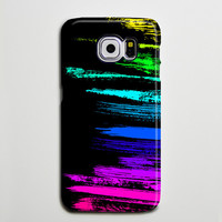 Graffiti Chalk Stroke Pink Yellow Blue Galaxy s6 Edge Plus Case Galaxy s6 s5 Case Samsung Galaxy Note 5 4 3 Phone Case s6-03