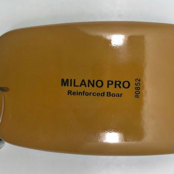 MILANO PRO SQUARE REINFORCED BOAR BRUSH BS.