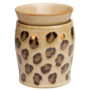 Leopard Scentsy Warmer DELUXE