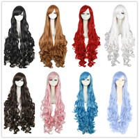 Synthetic Hair Long Curly  Cosplay Wig