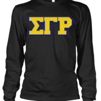 Sigma Gamma Rho Greek Letter Long Sleeve