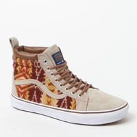 Vans - Pendleton SK8-Hi MTE Tan Shoes - Mens Shoes - Brown