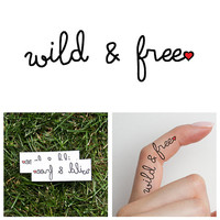 Spirit  - Temporary Tattoo (Set of 2)