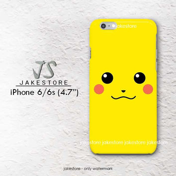 cute face Pokemon wallpaper iPhone Case 4 4s 5 5s 5c 6 6s Plus