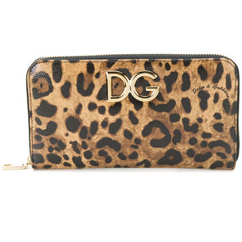 Dolce & Gabbana Continental Logo Plaque Wallet - Farfetch