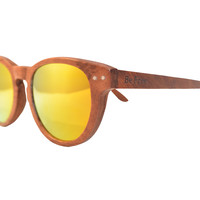 Be Free - Rosewood Wood Sunglasses