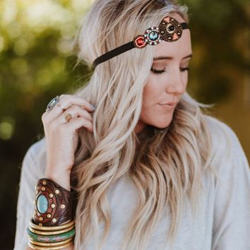 Circle Of Life Beaded Headband
