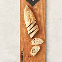 Farmhaus Reclaimed Elm Wood Pennant Serving Board- Assorted One