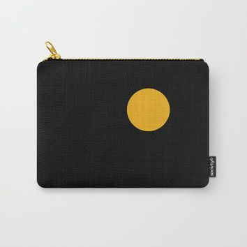 yellow point Carry-All Pouch by netzauge