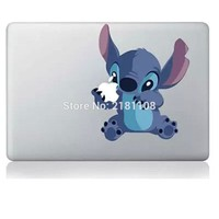 """Lilo and Stitch sticker Decal Vinly for Apple MacBook 13""""/15"""" Retina/Pro/Air laptop"""