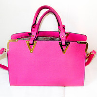 Bright Pink Purse Handbag Stock Photography Instant Digital Download