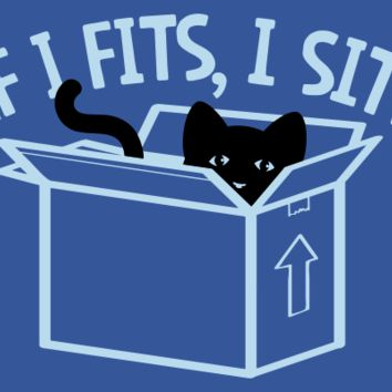 If I Fits, I Sits T-Shirt | SnorgTees