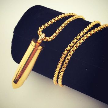 Stylish Gift New Arrival Jewelry Shiny Hip-hop Club Necklace [8439429955]