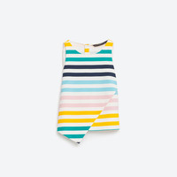 MULTICOLOURED STRIPED TOP