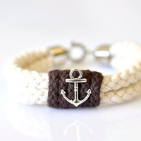 Anchor Rope Bracelet for Men - Available in 11 Colors