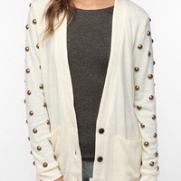 Urban Outfitters - Reverse Round Stud Cardigan