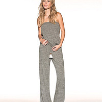 Lucky Brand Lace It Up Crochet Back Jumpsuit
