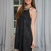 Sparkle Of Light Dress, Black