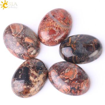 Natural Breciated Jasper Cabochon Crystal