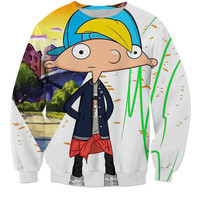 "Hey Arnold Cool Kid "" Sweatshirts """