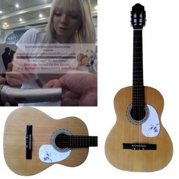 Danielle Bradbery Autographed Full Size Country Music Acoustic Guitar, Proof Photo
