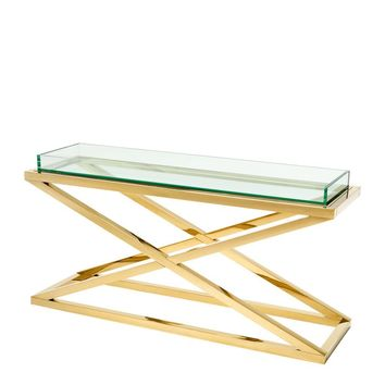 X Leg Console Table | Eichholtz Curtis