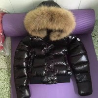 cc auguau Moncler Womens Shined Fur
