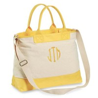 Color Pop Beach Tote, Yellow