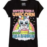 Rainbow Unicorn Graphic Tee
