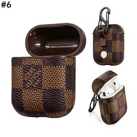 Supreme & GUCCI LV & Burberry Tide brand men and women AirPods wireless Bluetooth headset holster #6