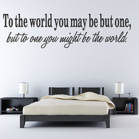 Wall Sticker Art Decal Quote Inspirational Lettering Decoration Lettering Decoration Stickers Vinyl Removable Letters Quote Art (218)