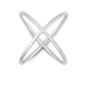 X Ring, Silver