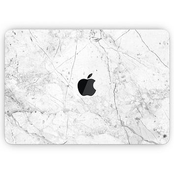 """Cracked Marble Surface - Skin Decal Wrap Kit Compatible with the Apple MacBook Pro, Pro with Touch Bar or Air (11"""", 12"""", 13"""", 15"""" & 16"""" - All Versions Available)"""