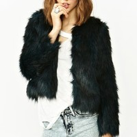 Rutilda Faux Fur Coat